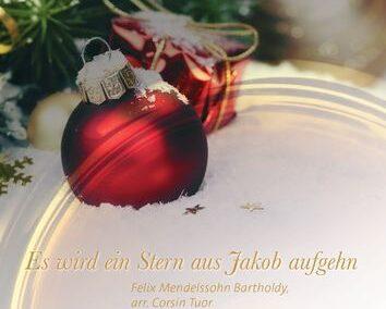 Es wird ein Stern aus Jakob aufgehn, Op. 97